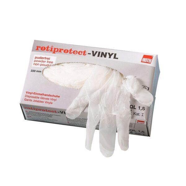 Rękawice winylowe Rotiprotect® - bezpudrowe