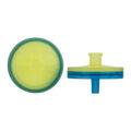 Filtry strzykawkowe Chromafil - regenerowana celuloza (RC) - m-3065 - filtry-strzykawkowe-chromafil - rc-20-25 - 020-%ce%bcm - 25-mm - zolte-niebieskie - niesterylne - 100-szt
